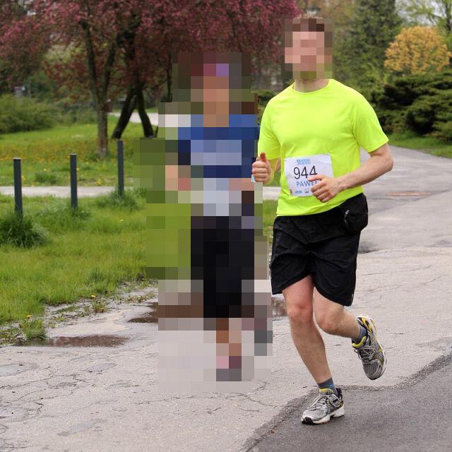 ea35925b Źródło: Siebiega / Facebook Mężczyzna początkowo nie przyznawał się do  udziału w biegu