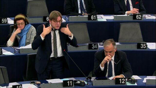 Verhofstadt kontra Szydło. Premier: nie mam kłopotów ze zrozumieniem