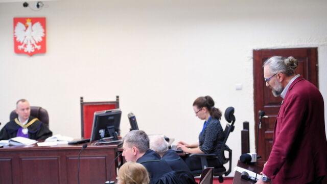 Kijowski w sądzie ze swoimi zwolennikami