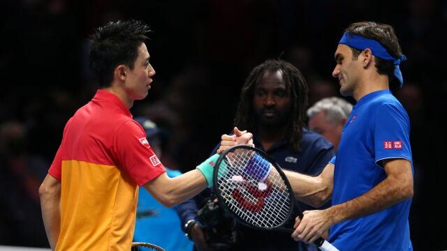 """Federer pokonany. """"Nigdy nie jest łatwo wygrać z idolem"""""""
