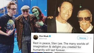 Gwiazdy żegnają Stana Lee.