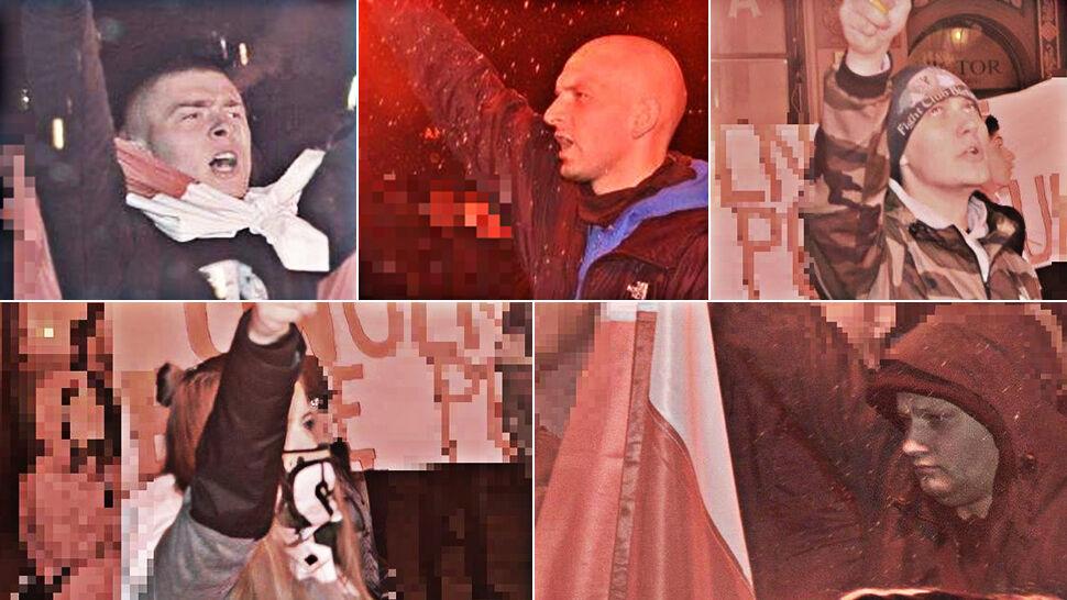 Policja publikuje wizerunki poszukiwanych po marszu we Wrocławiu