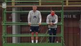 Luis Enrique poprowadził trening Hiszpanii z rusztowania