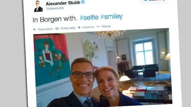 Pamiątka ze służbowej wizyty. Selfie z duńską premier