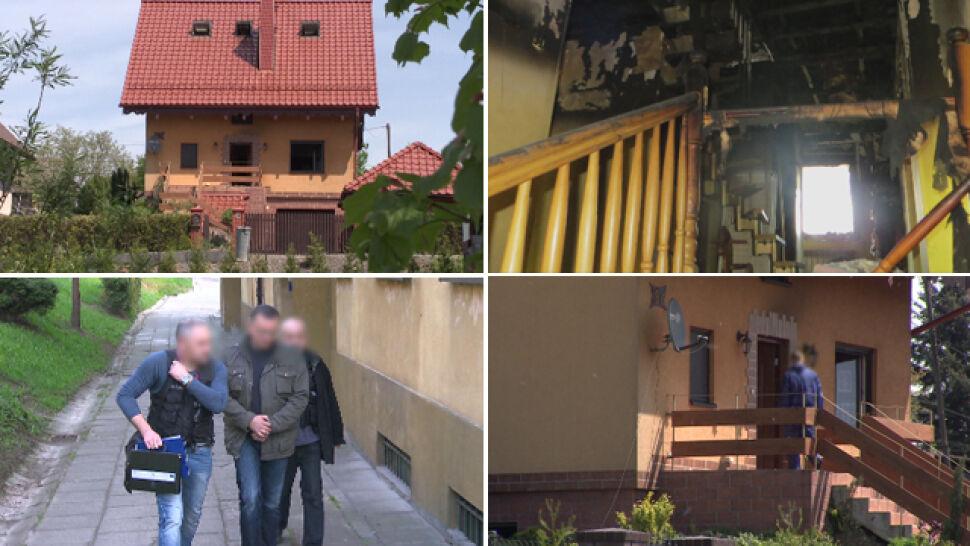 Chciał zdobyć pieniądze i uwolnić się od rodziny. Podpalił dom, zginęła jego żona i czworo dzieci