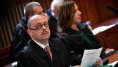 Krzyki na sądowych korytarzach po przesłuchaniu Tuska