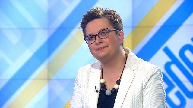 """Katarzyna Lubnauer w """"Jeden na jeden"""""""