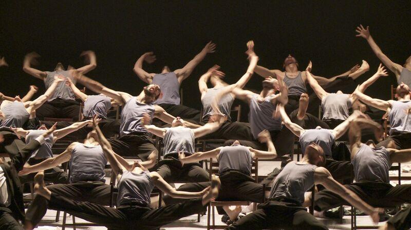 """""""Jednoczymy się z Batsheva Dance Company"""" (fragm. """"Mr. Gaga"""" reż. Tomer Heymann)"""