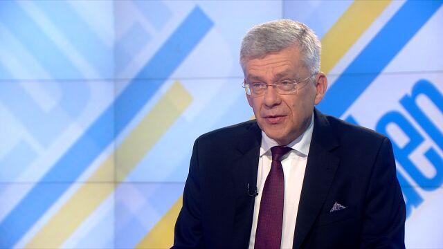 """Marszałek Senatu Stanisław Karczewski w """"Jeden na jeden"""" TVN24"""