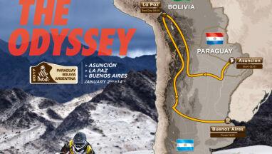 Nowy Dakar w nowym kraju.