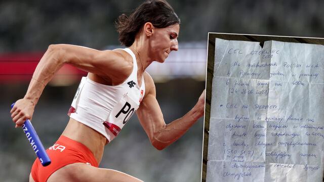 """""""Myślałam sobie, że chyba jestem szalona"""". Kiełbasińska zrealizowała cele w 95 proc."""