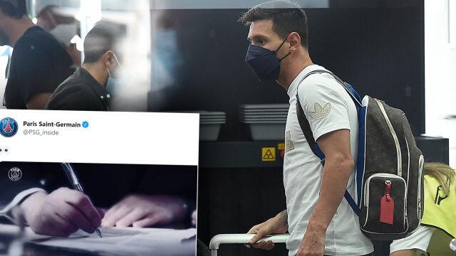 Messi już w Paryżu. Przeszedł testy medyczne