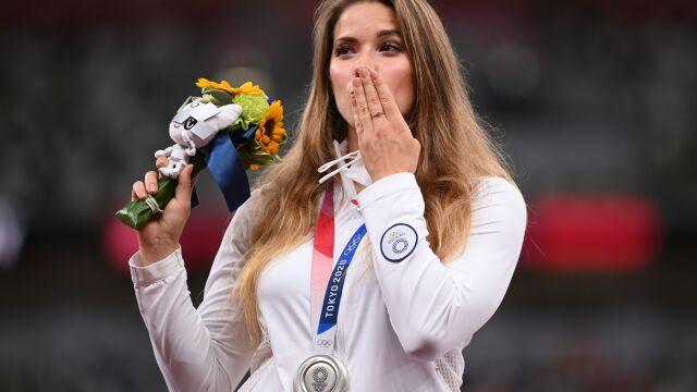 Maria Andrejczyk zlicytowała medal olimpijski. Kwota robi wrażenie