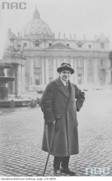 Malarz Stanisław Kotowicz-Gilewski,1925
