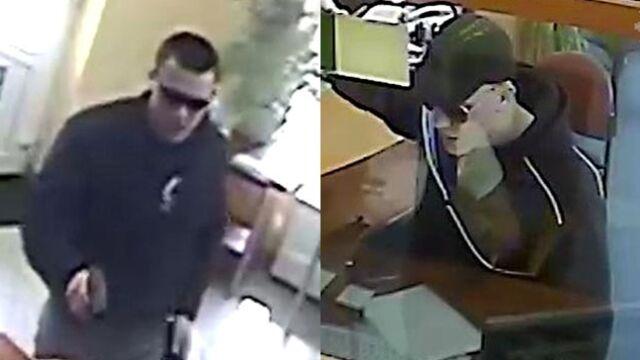 Napadali na bank. Policja publikuje zdjęcia przestępców