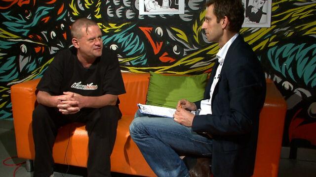 Cały wywiad reportera TVN24 z Kazikiem Staszewskim