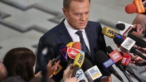 Tusk: losy Polski rozstrzygną się między wizją PiS i PO