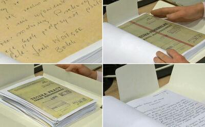 Trzy teczki, w tym oświadczenie Kiszczaka. Te dokumenty ujawnił IPN pod koniec lutego