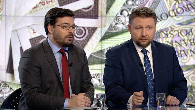 Stanisław Tyszka i Marcin Kierwiński o zarobkach w NBP