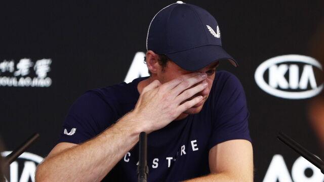 """Murray nie mógł powstrzymać łez. """"To może być mój ostatni turniej"""""""
