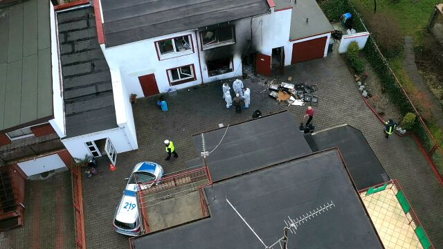 Pięć ofiar pożaru w escape roomie