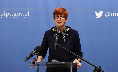 Elżbieta Rafalska skierowała do premiera wniosek o odwołanie wiceminister Bojanowskiej