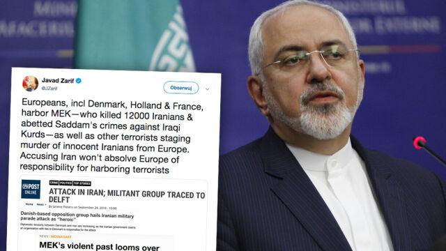 """""""Oskarżanie Iranu nie uwolni Europy od odpowiedzialności za chronienie terrorystów"""""""