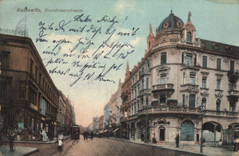 Ulica 3 Maja w Katowicach, 1907 rok
