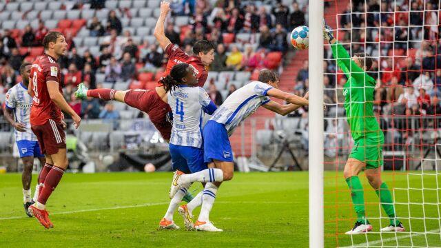Lewandowski w piekielnej formie. Tym razem przekonała się o tym Hertha