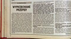 """""""Przyjaciółka"""", 27 grudnia 1984 roku"""