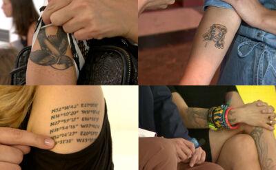 """Gwiazdy o swoich tatuażach. """"Może gdybym miała bardzo brzydkie cało"""""""