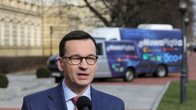 Premier o słowach Broniarza: nie powinno dochodzić do takiego szantażu emocjonalnego