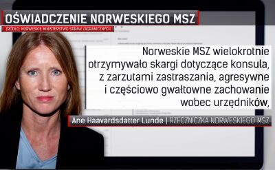 Sławomir Kowalski. Persona non grata w Norwegii