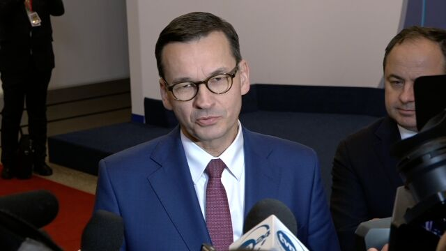 Premier komentuje ustalenia szczytu w Brukseli w sprawie brexitu
