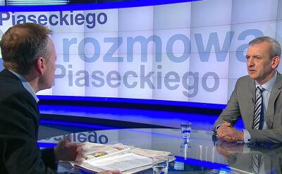 Broniarz: minister lekceważąco, cynicznie nawiązywała do skali protestu, moja wypowiedź była reakcją na jej słowa