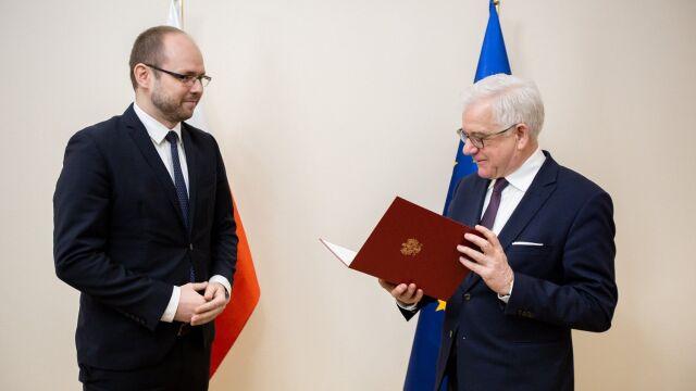Nowy podsekretarz stanu w MSZ odpowiedzialny za politykę wschodnią