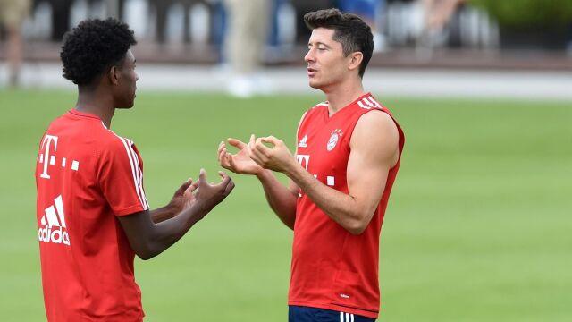 """Grają razem w Bayernie. Alaba musi zapomnieć o przyjaźni z """"Lewym"""""""