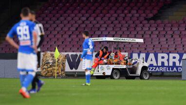 Bramkarz Napoli wypisany ze szpitala.