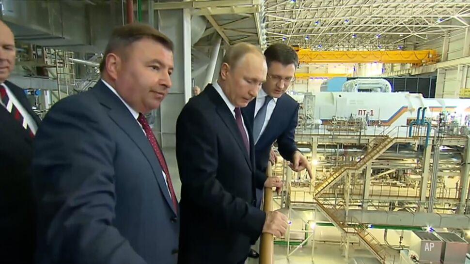 Putin na Krymie w piątą rocznice aneksji