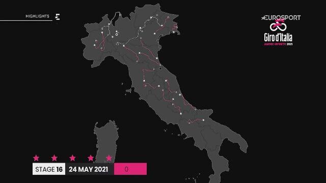 Skrót 16. etapu Giro d'Italia