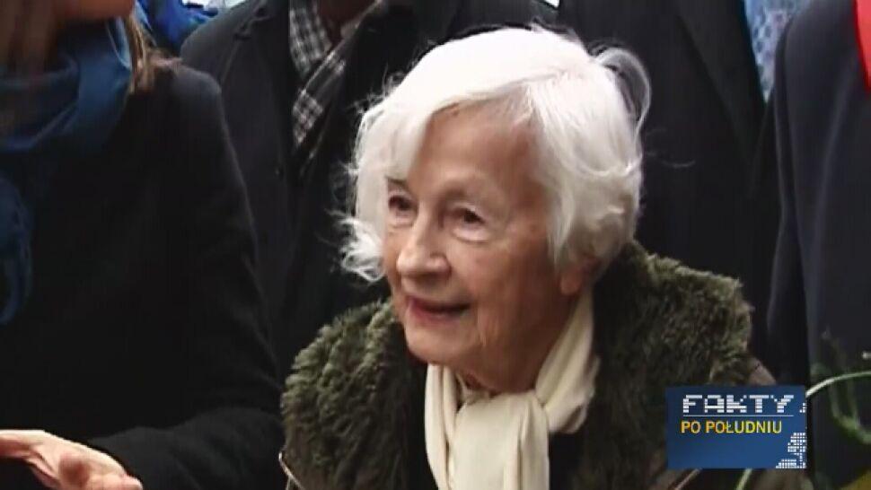 Danuta Szaflarska odeszła w wieku 102 lat