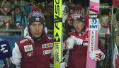 Kamil Stoch i Dawid Kubacki po konkursie w Klingenthal