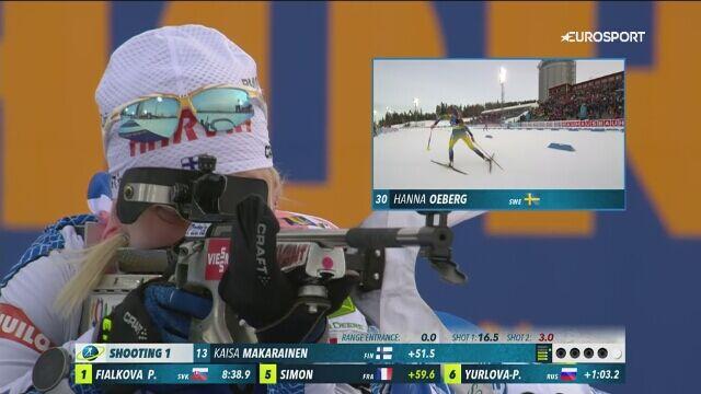 Oeberg mistrzynią świata w biegu indywidualnym