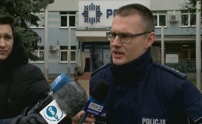 Policja informuje o ataku nożownika w Białymstoku