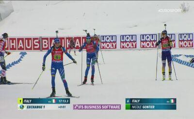 Norweżki ze złotymi medalami, 7. miejsce Polek w sztafecie