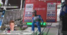 Zwycięski skok Halvora Egnera Graneruda z niedzieli w Ruce