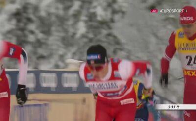 Johannes Klaebo bez problemu awansował do półfinału sprintu w Ruce