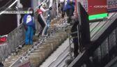 Fenomenalny skok Dawida Kubackiego z 1. serii konkursu w Ruce
