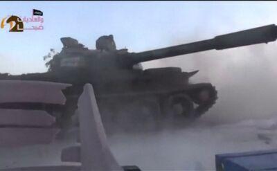 Atak sił el-Asada w mieście Hama