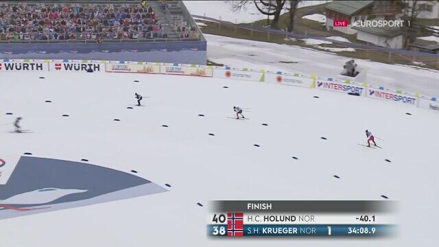 Hans Christer Holund mistrzem świata na 15 km techniką dowolną